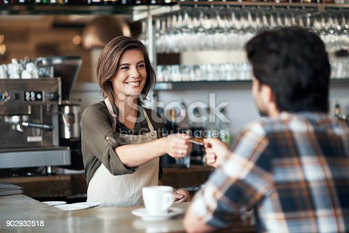 istock It's a pleasure to be of service 902932518