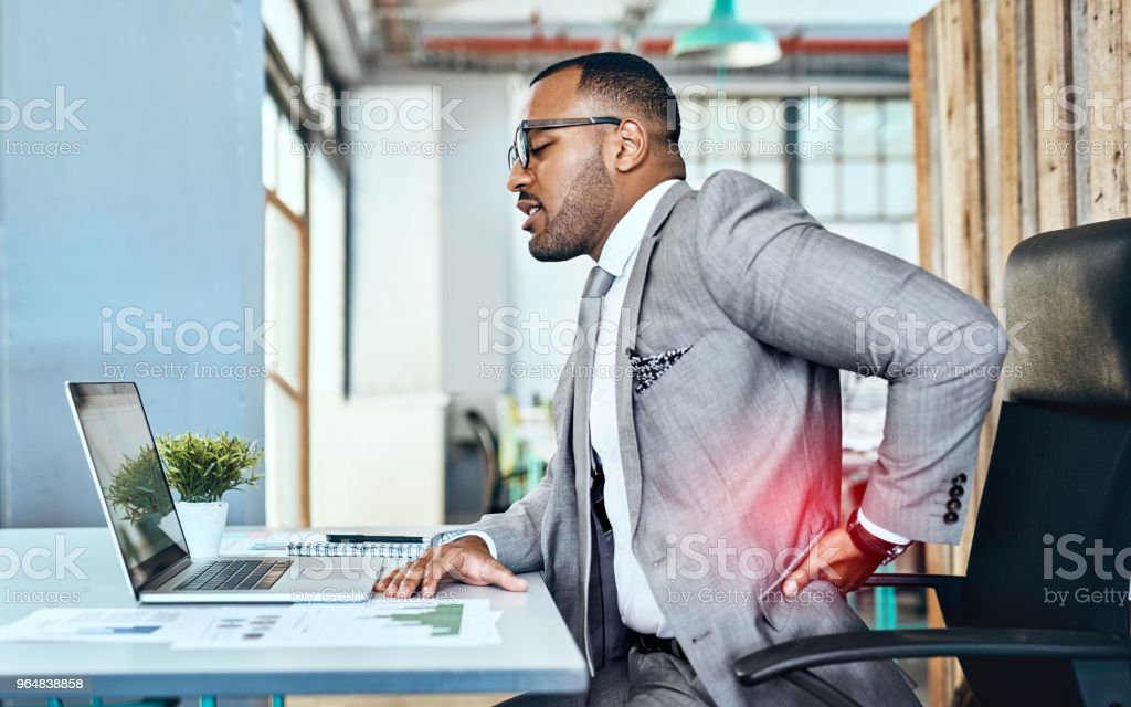 It's a sign of too much stress with little rest royalty-free stock photo