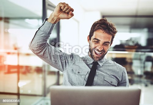 istock It's a victory worth celebrating 869583954