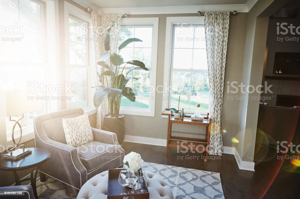 It's a welcoming place to get cosy stock photo