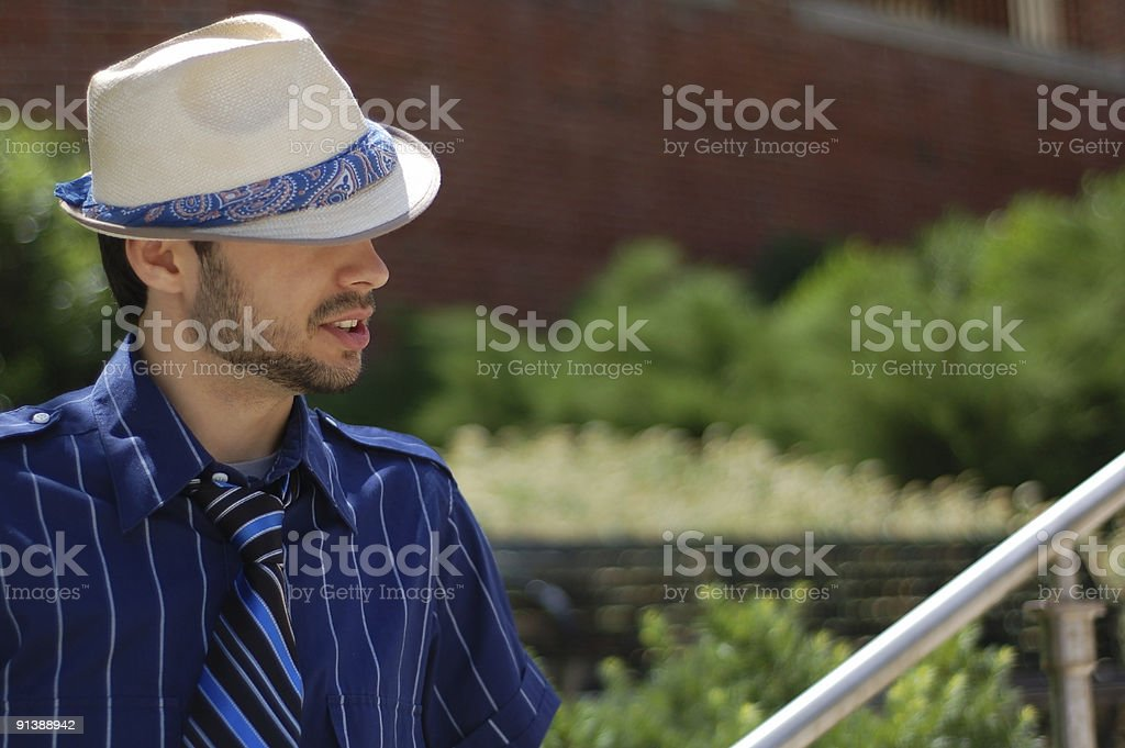 Its about the hat #2 stock photo
