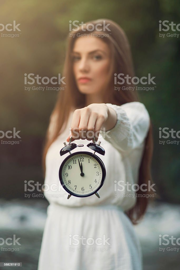 It's About Time! stock photo
