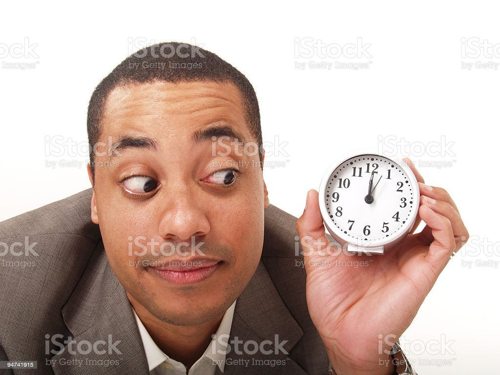 It's About Time! royalty-free stock photo