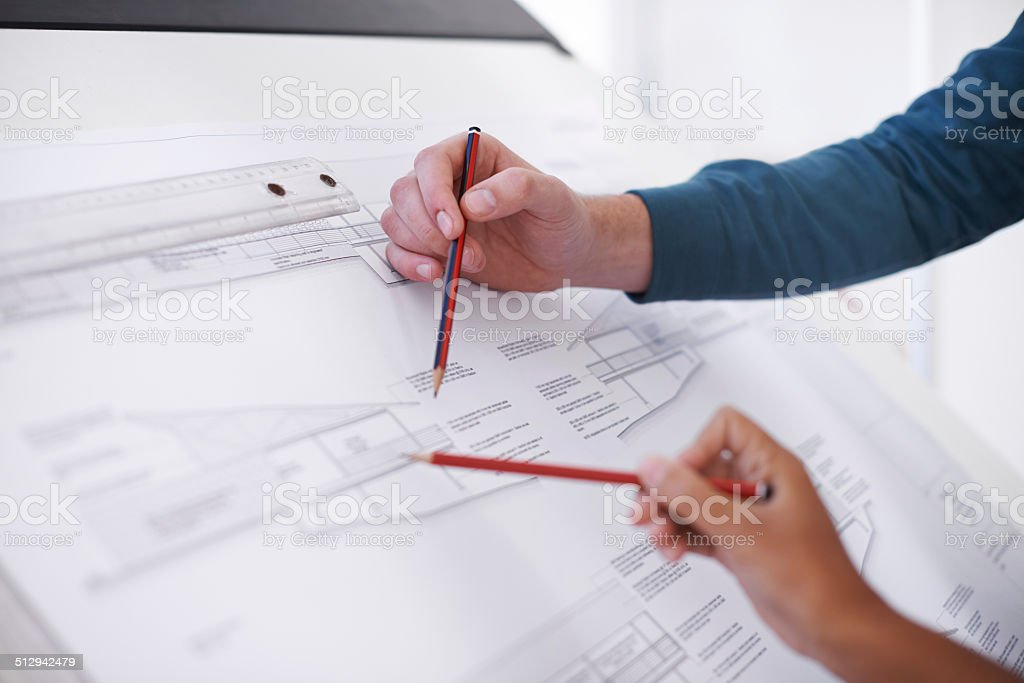 It's all about precision stock photo