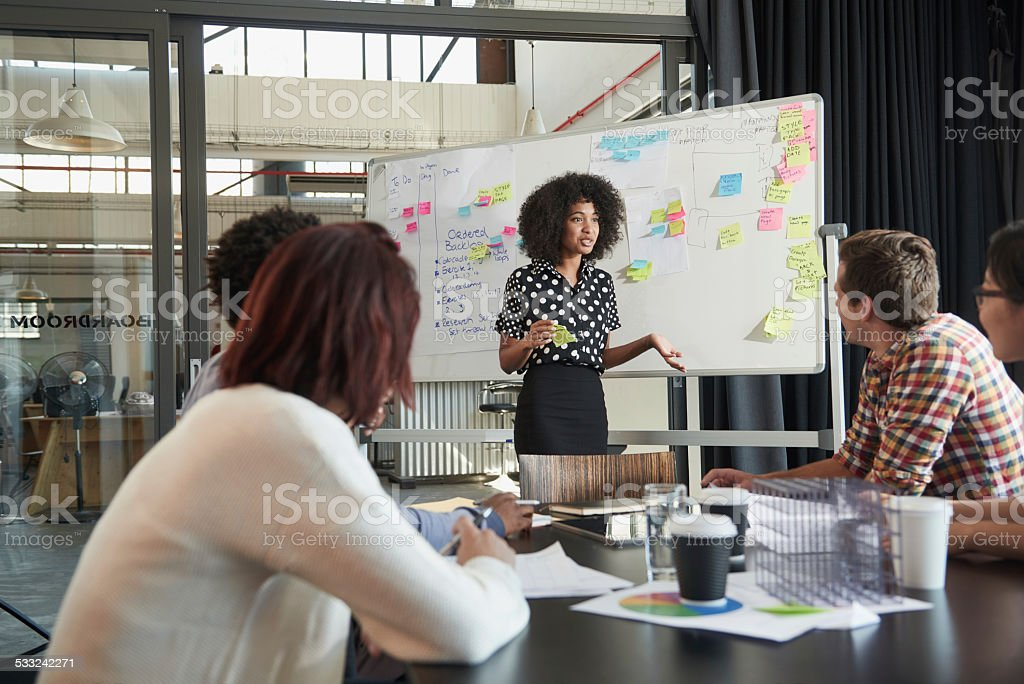 It's all about strategy stock photo
