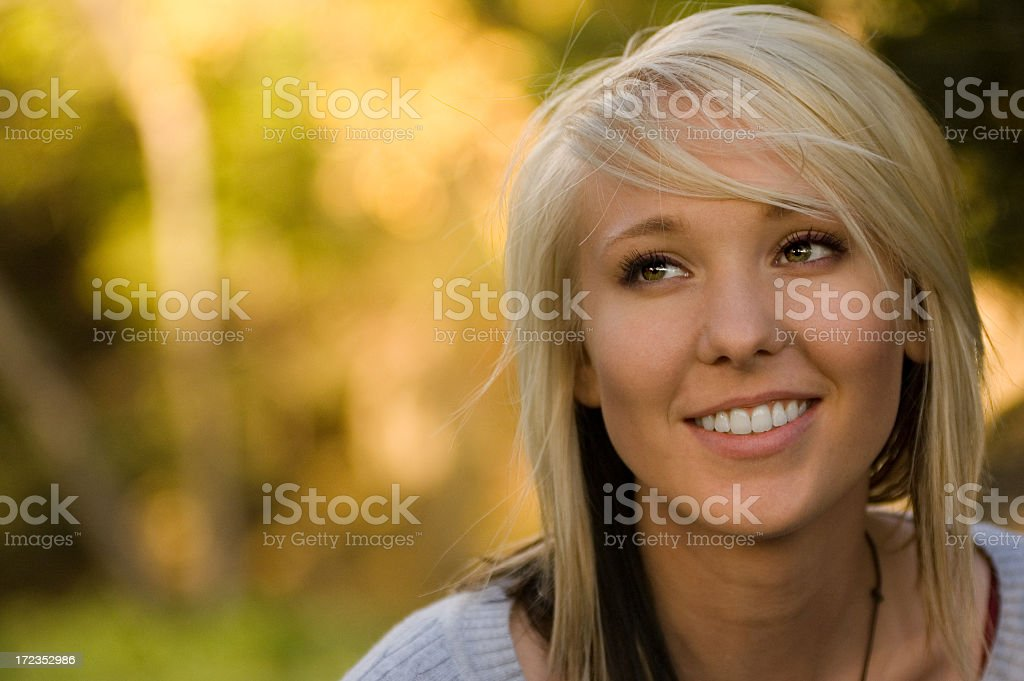 It's all about the eyes royalty-free stock photo
