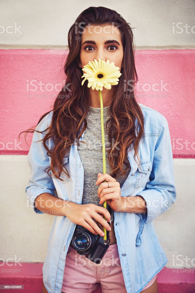 It's all about the simple things making you happy royalty-free stock photo