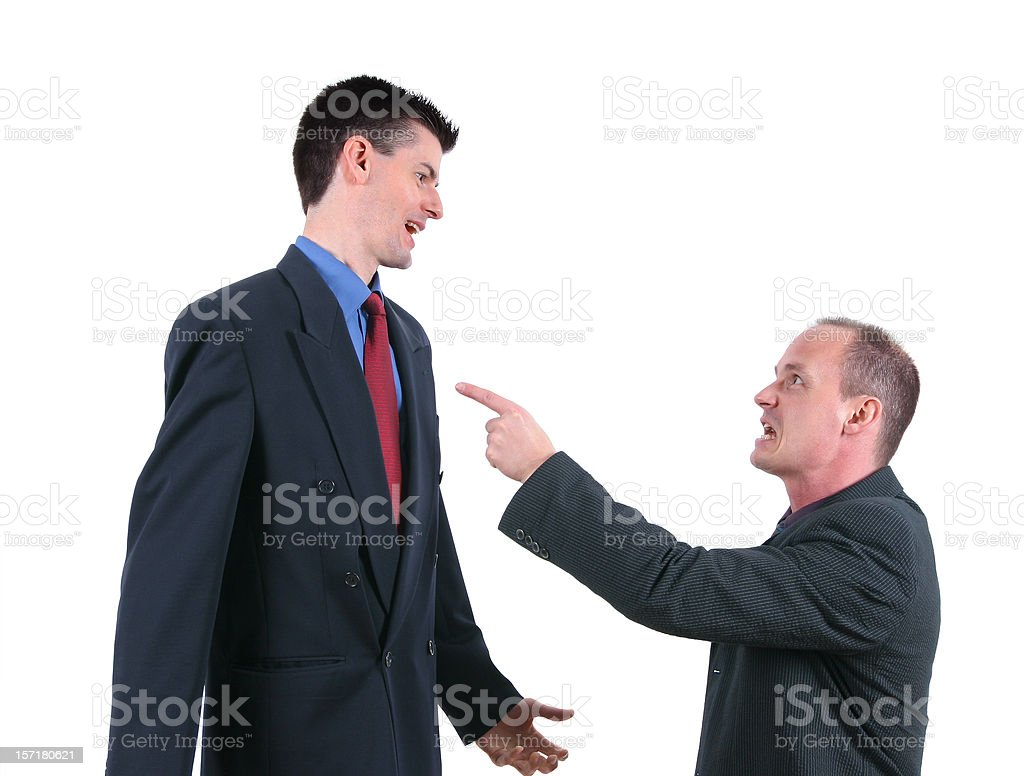 It's all your fault stock photo