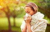 アレルギーシーズンのます。