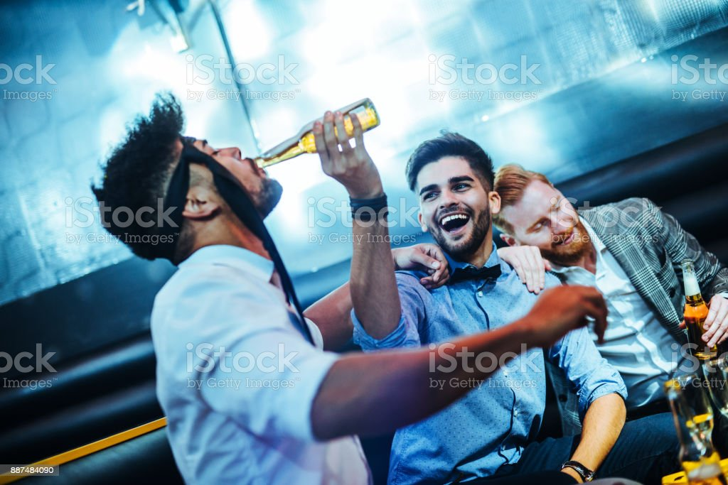 It's always fun when they get together stock photo