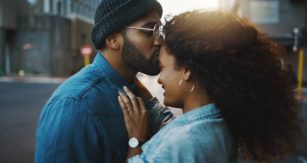 It's always the right time for romance stock photo