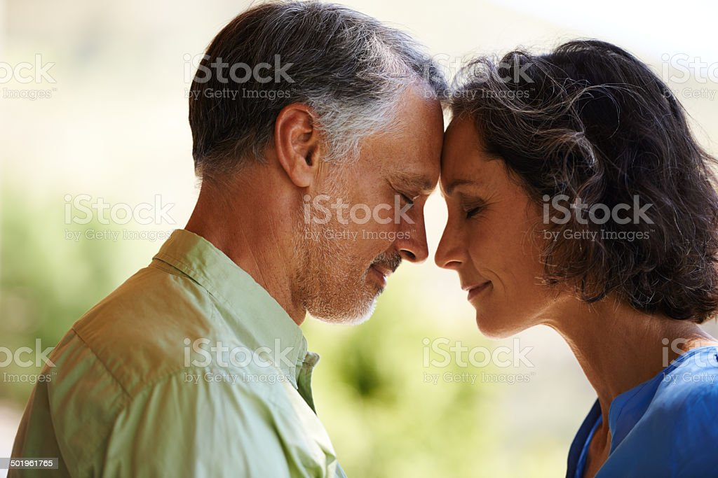 It's as if no time has passed at all... stock photo