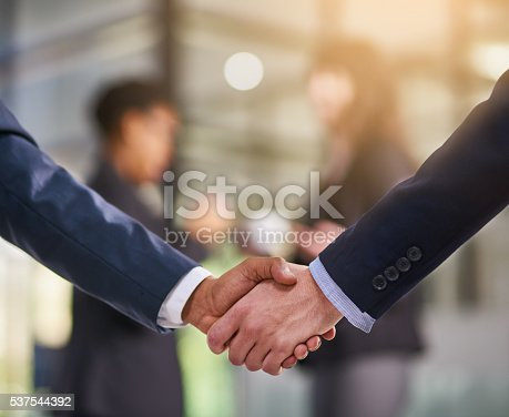 istock It's been great doing business together 537544392