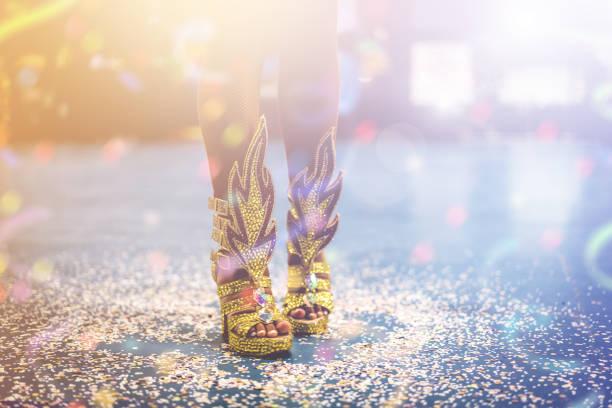 it's carnival party! - samba imagens e fotografias de stock