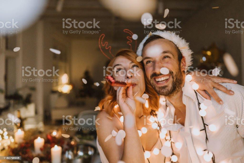 Es ist Weihnachtszeit - Lizenzfrei Beleuchtet Stock-Foto