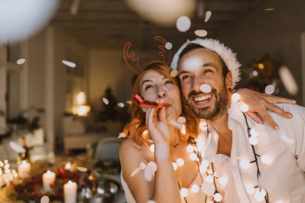 es navidad - año nuevo fotografías e imágenes de stock