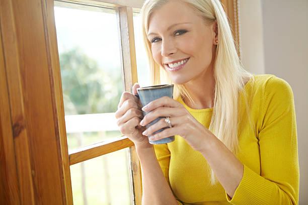It's coffee o' clock stock photo