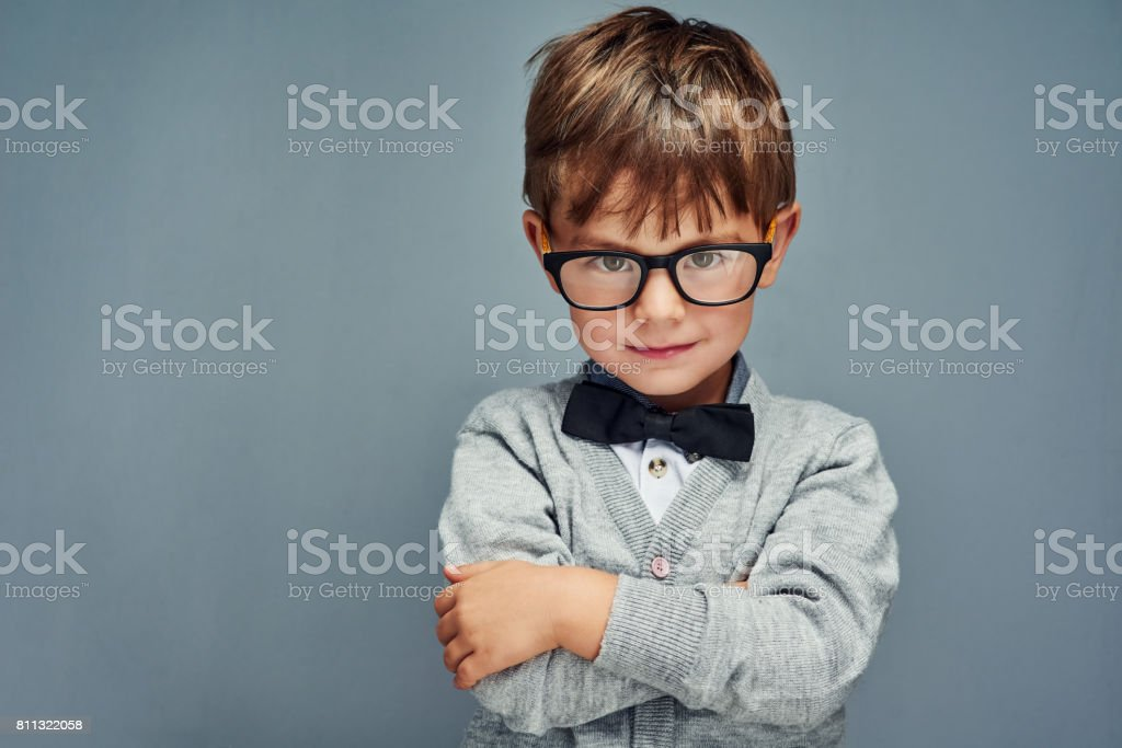 It's cool to be clever stock photo