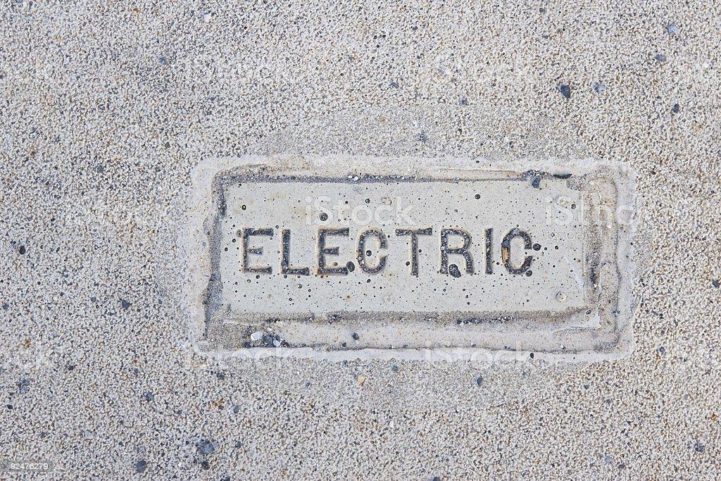 Die elektrische! Lizenzfreies stock-foto