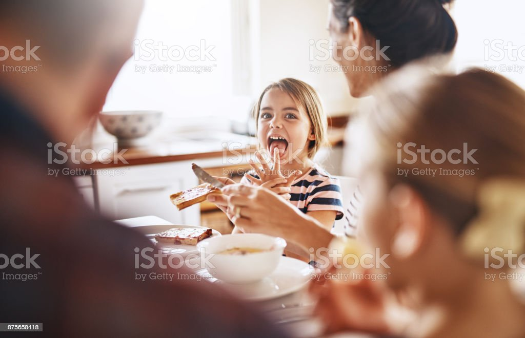 It's finger licking good stock photo