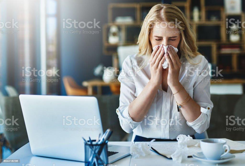 Die Grippe Saison – Foto
