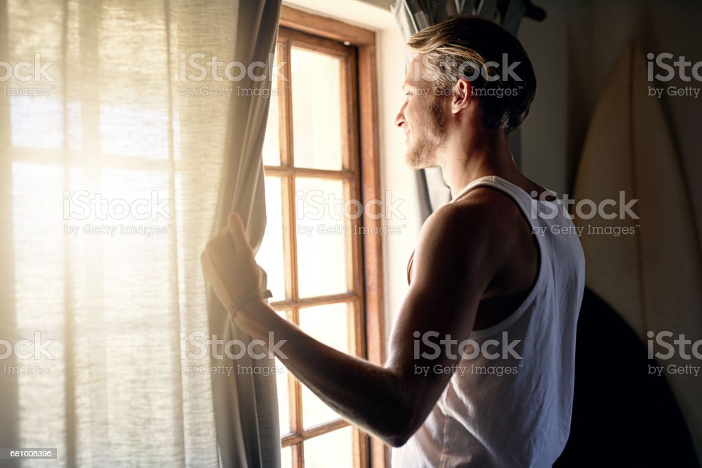 It's going to be a beautiful day royalty-free stock photo