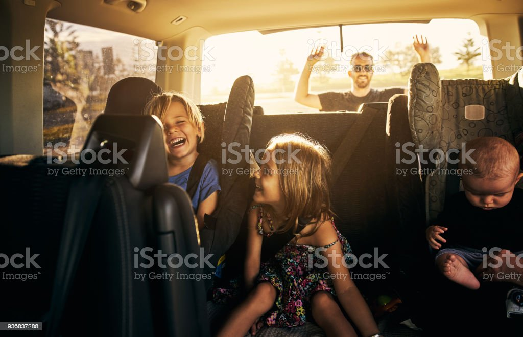 It's going to be fun fun fun! stock photo