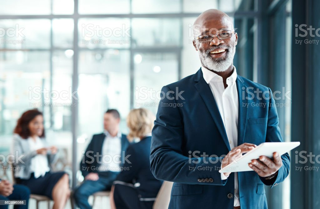 Tem todos os meus deveres de CEO cobertos - Foto de stock de Adulto royalty-free