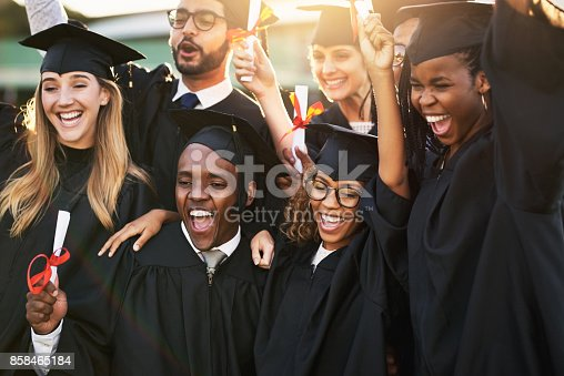 istock It's graduation time and everyone is so excited 858465184
