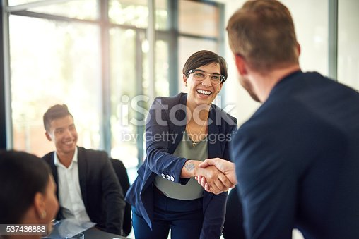 istock It's great to have you on baord! 537436868