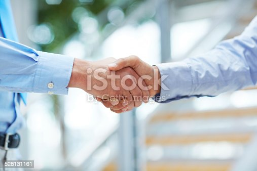istock It's great to meet you 528131161