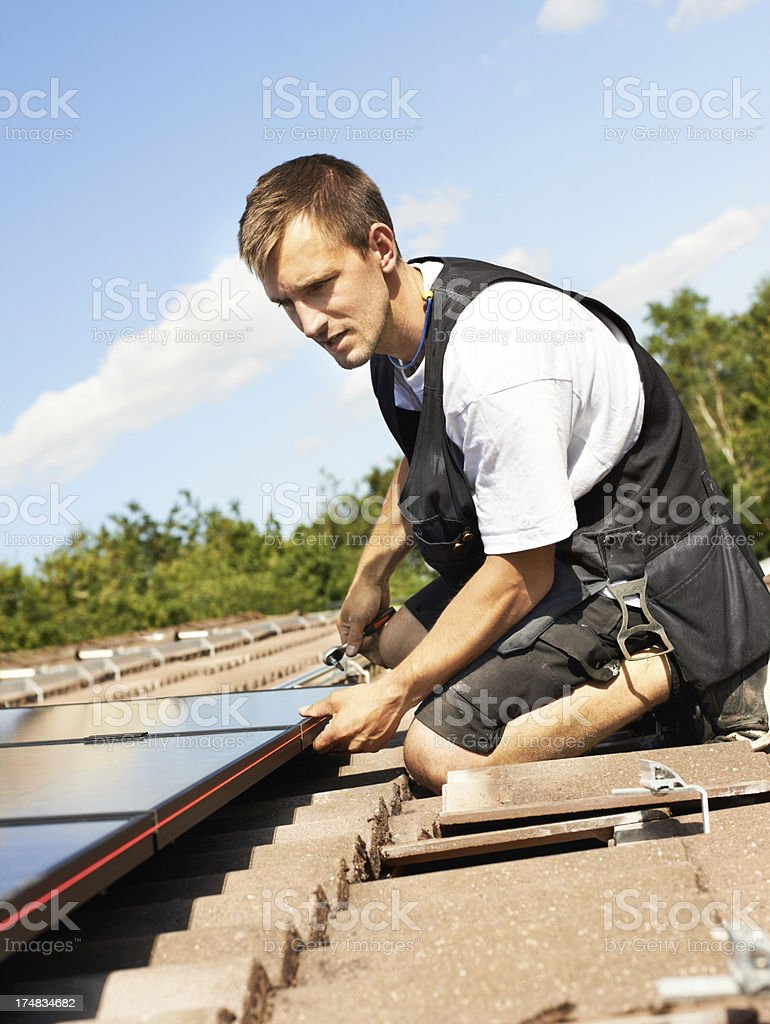 It's high time I start living green! royalty-free stock photo