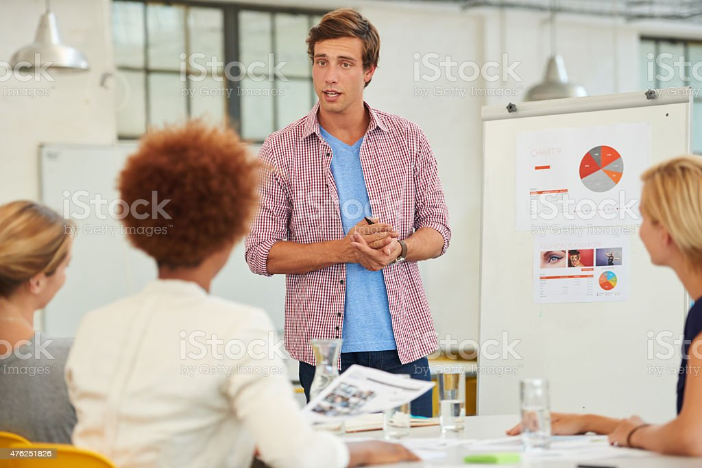 It's imperative that we implement this new method stock photo