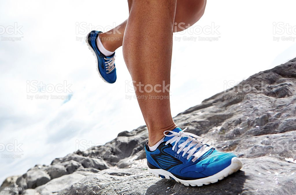 It's important to have the correct footwear stock photo