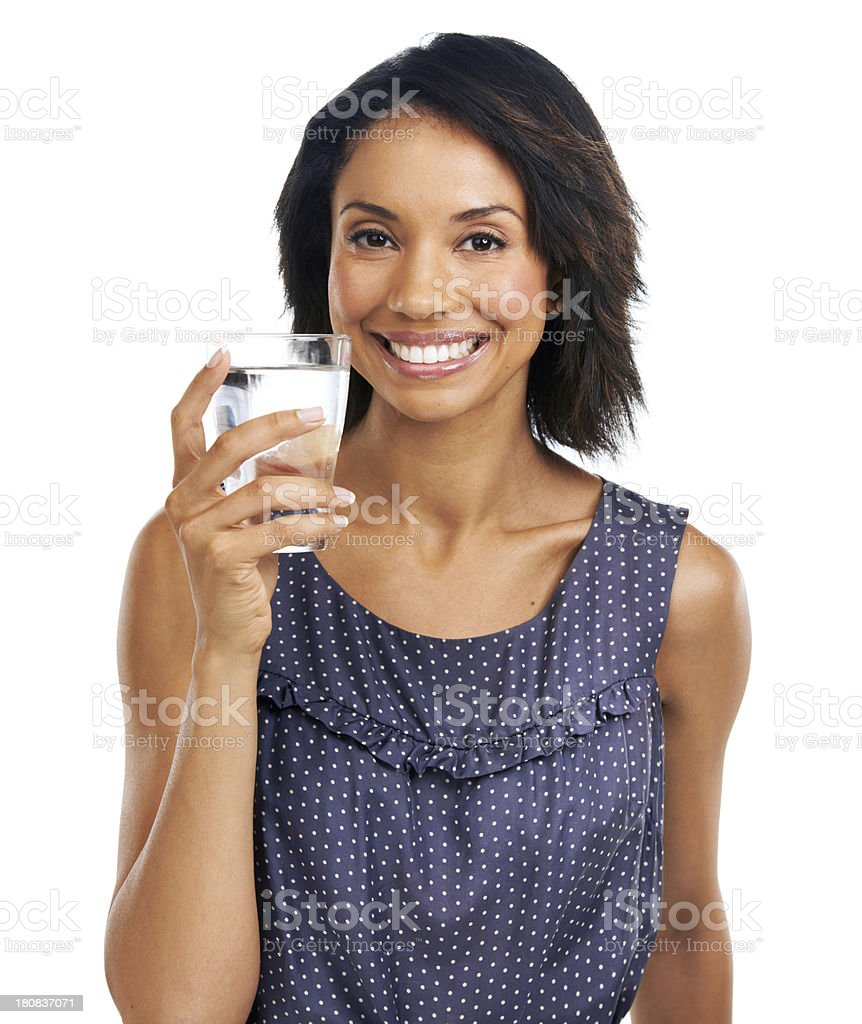 It's important to keep hydrated royalty-free stock photo