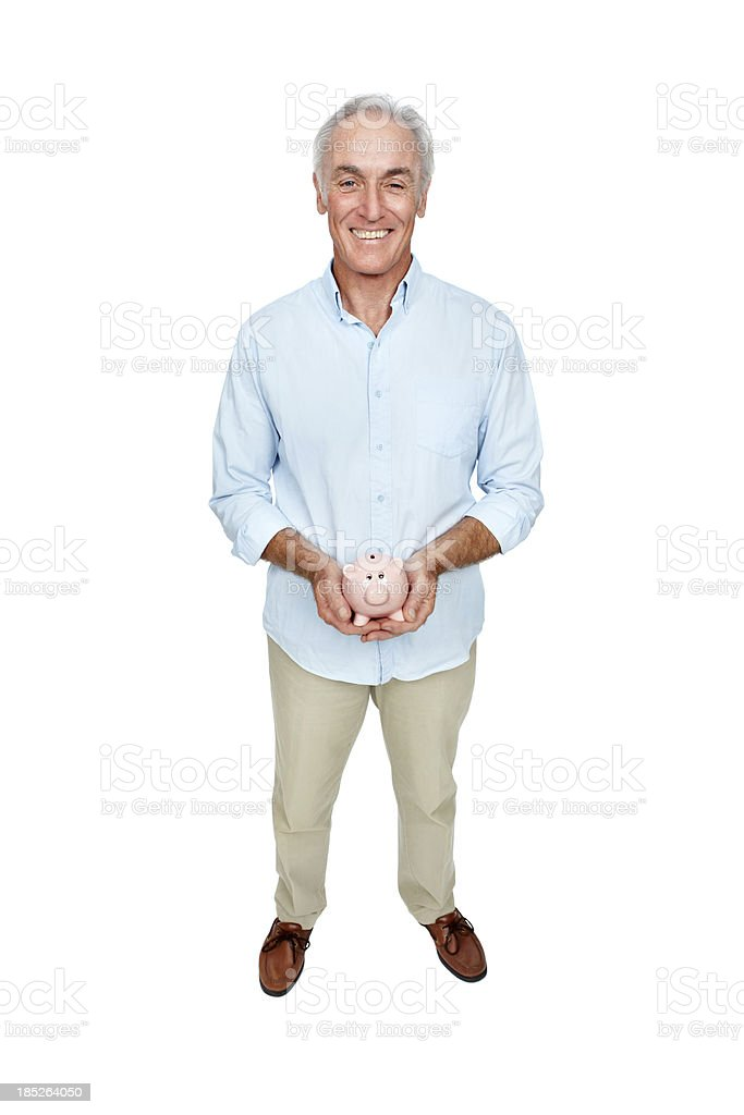 Its important to save for retirement royalty-free stock photo