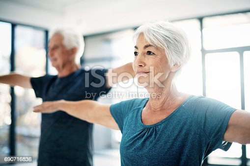 istock It's important to stay active as you age 690716836