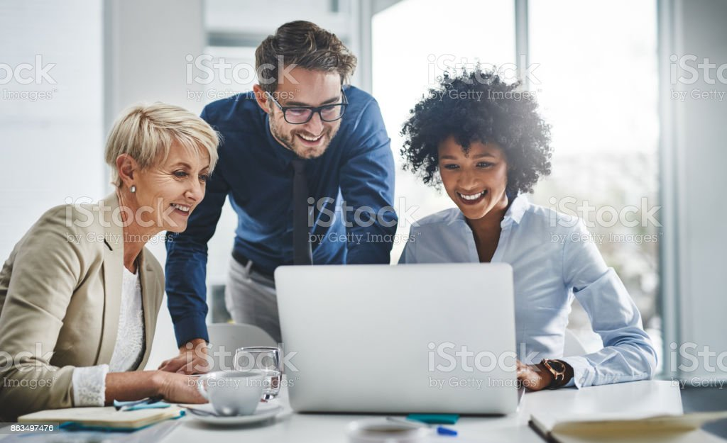 It's impossible until we show you that it's possible stock photo