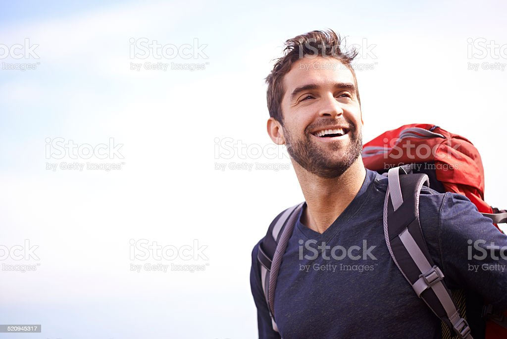 It's just better when you're outside stock photo