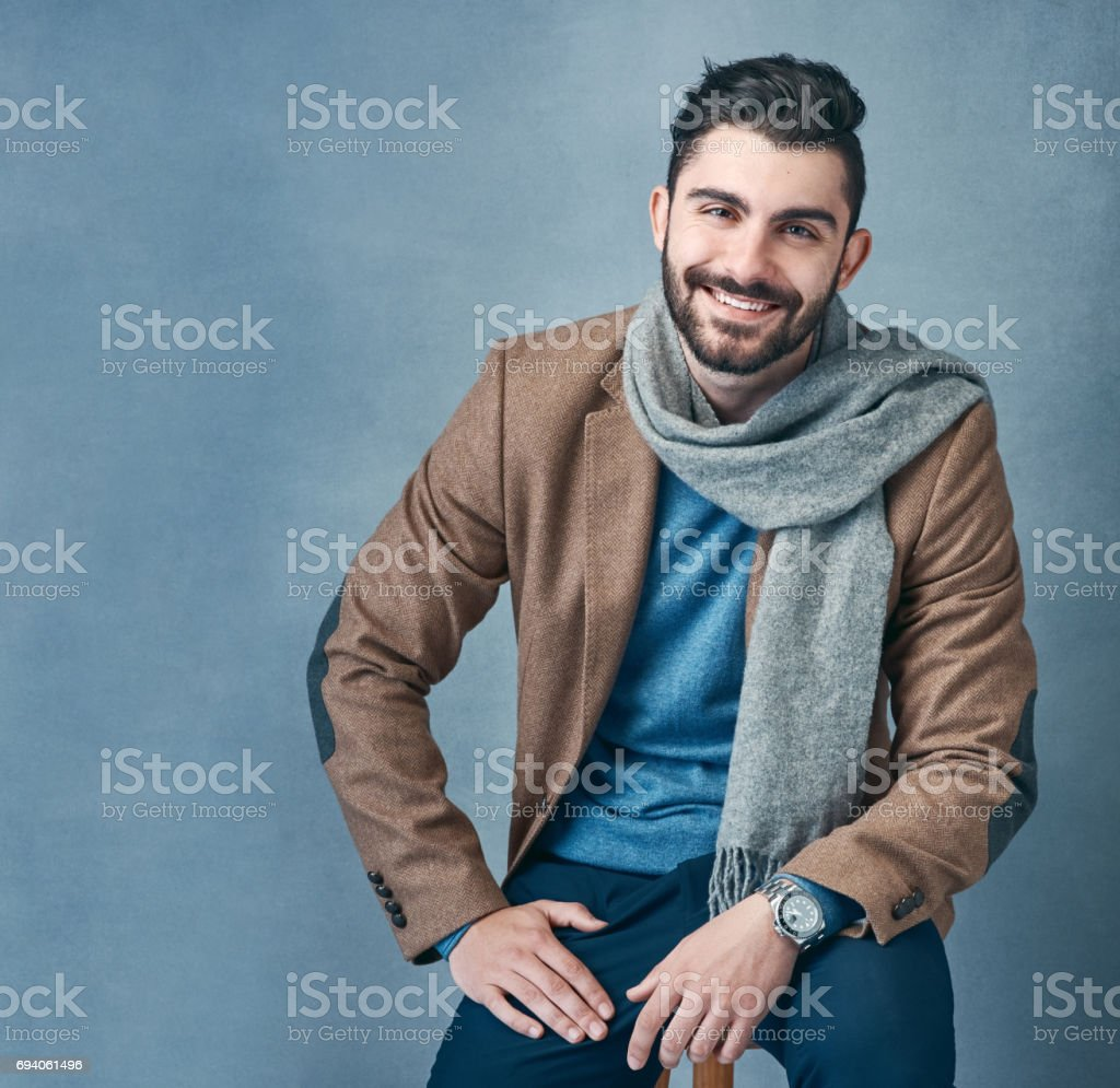 It's layer up season stock photo
