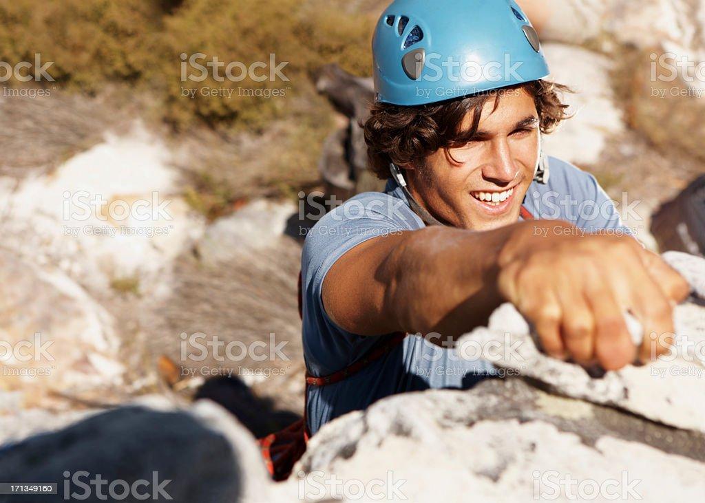 Es ist mir gegen die Berge - Lizenzfrei Abenteuer Stock-Foto