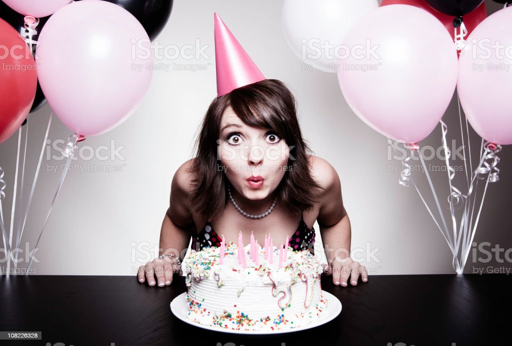 It's My Birthday! stock photo