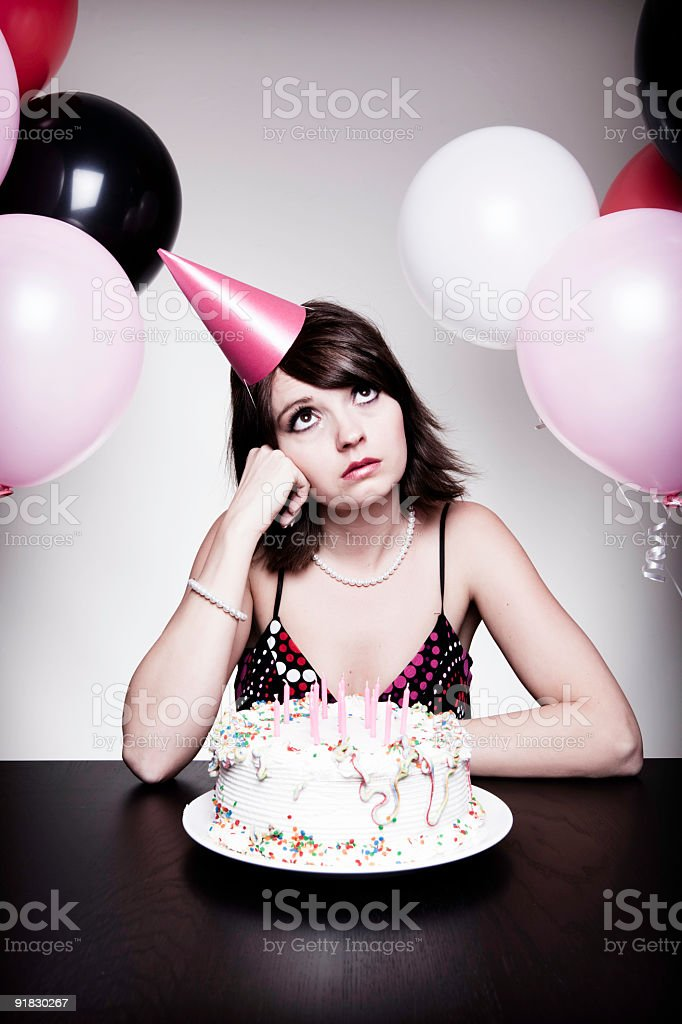 It's My Party ...... royalty-free stock photo