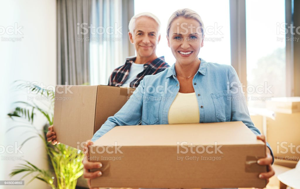 It's never too late to buy your dream home stock photo