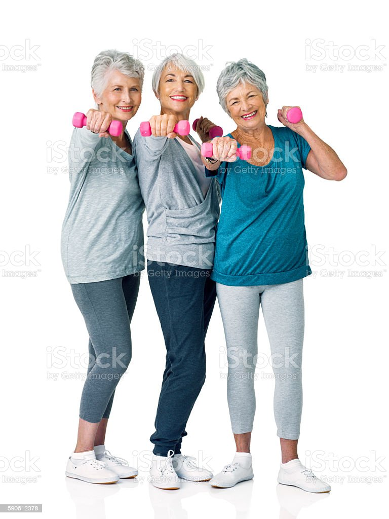 It's never too late to live your healthiest stock photo