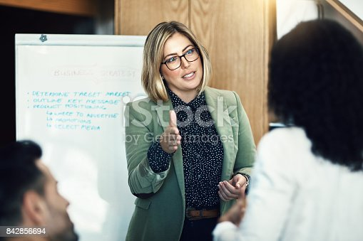 istock It's no wonder she's the lead on this project 842856694