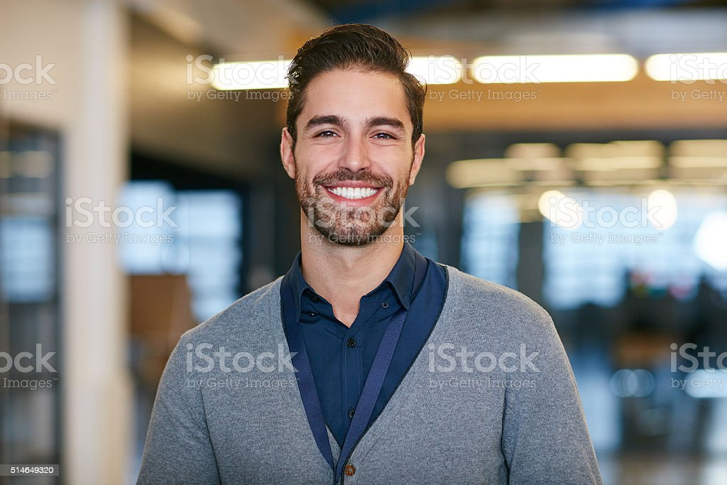 It's not a job when you love what you do stock photo