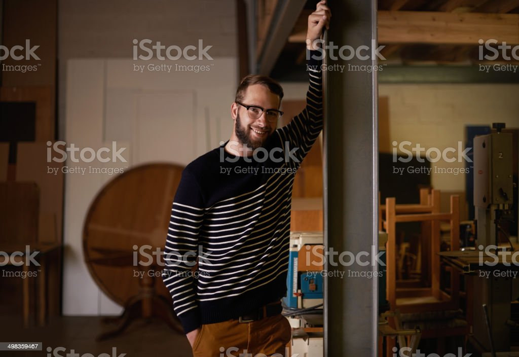 It's not easy being this cool stock photo