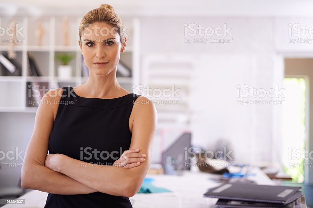 It's not easy running a business stock photo