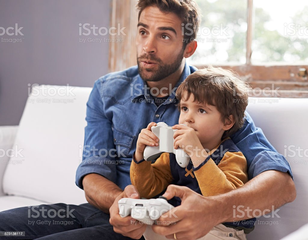 It's not game over until I clock this stock photo